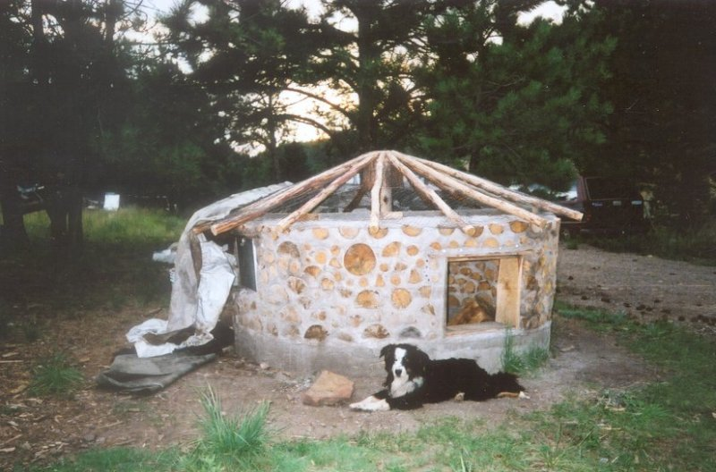 House Plans and Home Designs FREE » Blog Archive » CORDWOOD HOME